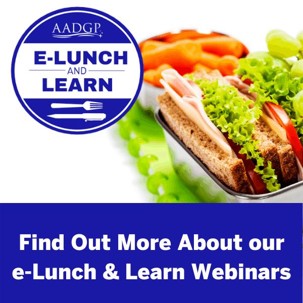 E-Lunch & Learn Webinars